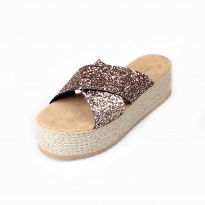 eco leather wedges
